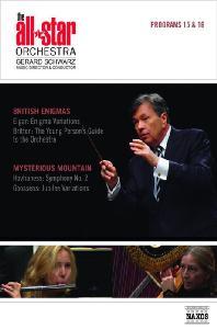 ALL STAR ORCHESTRA PROGRAMS 15 & 16/ GERARD SCHWARZ [올스타 오케스트라: 엘가, 브리튼, 호바네스, 구센즈 - 제러드 슈워츠]