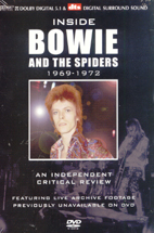 DAVID BOWIE/ INSIDE DAVID BOWIE AND THE SPIDERS/ A CRITICAL REVIEW 1969 - 1972 (데이비드 보위)