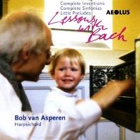 LESSONS WITH BACH/ BOB VAN ASPEREN [바흐: 평균율 클라비어곡집, 인벤션 - 봅 반 아스페렌]