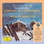 SYMPHONY NOS.1 & 7/ LEONARD BERNSTEIN
