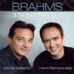 3 SONATES POUR VILONCELLE ET PIANO/ MICHEL DALBERTO/ HENRI DEMARQUETTE