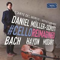 CELLO REIMAGINED/ WERNER ERHARDT [C.P.E.바흐: 첼로 협주곡, 하이든 & 바흐: 바이올린 협주곡(첼로 편곡), 모차르트: 플루트 협주곡 2번(첼로 편곡) 외 - 다니엘 뮐러 쇼트]