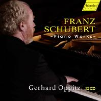 PIANO WORKS/ GERHARD OPPITZ [슈베르트: 피아노 작품집 - 게르하르트 오피츠]