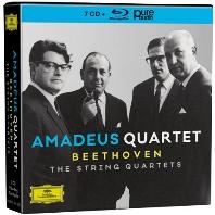 THE STRING QUARTETS/ AMADEUS QUARTET [7CD+BDA] [베토벤: 현악 사중주 전집 - 아마데우스 사중주단]