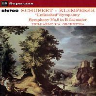 UNFINISED SYMPHONY, SYMPHONY NO.5/ OTTO KLEMPERER [LP] [슈베르트: 미완성교향곡 & 5번]