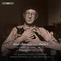 MAXIM RYSANOV PLAYS MARTINU: RHAPSODY CONCERTO, VIOLA SONATA/ JIRI BELOHLAVEK [SACD HYBRID] [막심 리자노프가 연주하는 마르티누: 랩소디 협주곡, 비올라 소나타 외]