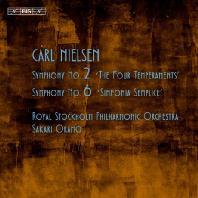 SYMPHONY NO.2 & 6/ SAKARI ORAMO [SACD HYBRID] [닐센: 교향곡 2번 '4개의 기질' & 6번 '단순 교향곡']