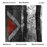 MUSIC FOR VIOLIN AND PIANO/ MIRANDA CUCKSON, BLAIR MCMILLEN [바르톡, 슈니트케, 루토슬라프스키: 바이올린 소나타]