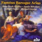 FAMOUS BAROQUE ARIAS/ JOHN-MARK AINSLEY, ROBERT KING