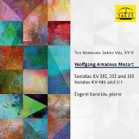 PIANO SONATAS KV330,332 & 333, RONDOS KV485,511/ EVGENI KOROLIOV [코롤리오프 18집: 모차르트 피아노 소나타, 론도]