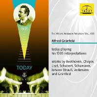 THE WELTE MIGNON MYSTERY VOL.21: TODAY PLAYING HIS 1905 INTERPRETATIONS/ ALFRED GRUNFELD [벨테 미뇽 21집: 그륀펠트 피아노롤 녹음집]