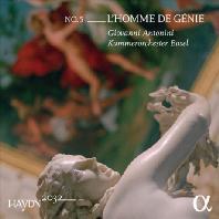 L`HOMME DE GENIE/ GIOVANNI ANTONINI [하이든 2032 프로젝트 5집: 교향곡 80, 81 & 19번]