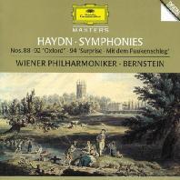 "SYMPHONIES NOS.88, 92 ""OXFORD"", 94 ""SURPRISE""/ LEONARD BERNSTEIN [하이든: 옥스포드 & 놀람 교향곡 - 번스타인]"