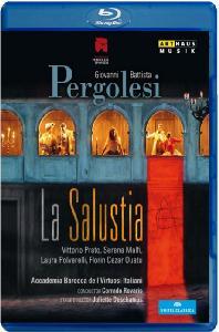 LA SALUSTIA/ CORRADO ROVARIS [페르골리지: 라 살루스티아] [블루레이 전용플레이어 사용]
