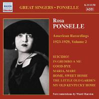 AMERICAN RECORDINGS 1923-1929 VOL.2 [로사 폰셀: 아메리칸 레코딩 2집]