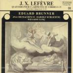 QUARTETS FOR CLARINET AND STRING TRIO/ EDUARD BRUNNER