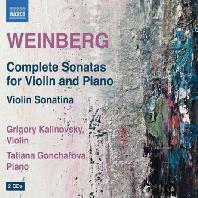 COMPLETE SONATAS FOR VIOLIN & PIANO/ GRIGORY KALINOVSKY, TATIANA GONCHAROVA [바인베르크: 바이올린 소나타 전곡 - 그레고리 칼리노프스키]