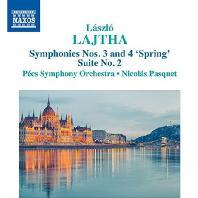 SYMPHONIES NOS.3 & 4 'SPRING', SUITE NO.2 / NICOLAS PASQUET [라이타: 관현악 작품 3집 - 교향곡 3, 4번 & 조곡 2번]