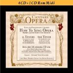 CANTARE OPERA: HOW TO SING OPERA/ PAOLO ANTOGNETTI [4CD+CD-ROM]