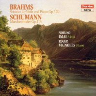 SONATAS & MARCHENBILDER/ NOBUKO IMAI, ROGER VIGNOLES [브람스: 비올라 소나타 & 슈만: 피아노와 비올라를 위한 이야기 그림책 - 이마이, 비뇰스]