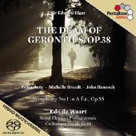 THE DREAM OF GERONTIUS & SYMPHONY NO.1/ EDO DE WAART [SACD HYBRID]