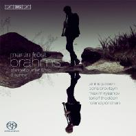 CLARINETE QUINTET & TRIO/ MARTIN FROST, JANINE JANSEN [SACD HYBRID] [브람스: 클라리넷 5중주 & 3중주, 6개의 노래]