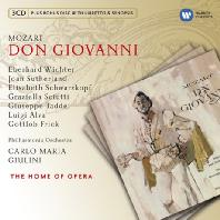 DON GIOVANNI/ CARLO MARIA GIULINI [+CD ROM] [모차르트: 돈 죠반니]