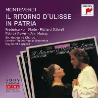 IL RITORNO D'ULISSE IN PATRIA/ RAYMOND LEPPARD [SONY CLASSICAL OPERA] [몬테베르디: 율리시즈의 귀환]