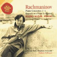 RACHMANINOV PIANO CONCERTOS 1-4, RHAPSODY ON A THEME BY PAGANINI/ VLADIMIR FEDOSEYEV [라흐마니노프: 피아노 협주곡 1-4 외] [20주년 기념 재발매]