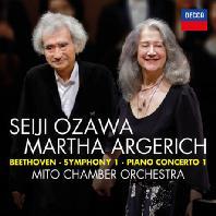 PIANO CONCERTO NO.1 & SYMPHONY NO.1/ MARTHA ARGERICH, SEIJI OZAWA [베토벤: 피아노 협주곡 1번, 교향곡 1번 - 아르헤리치 & 오자와]