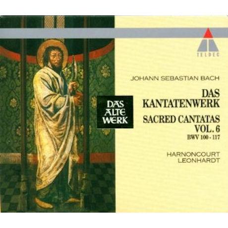 DAS KANTATENWERK VOL.6/ GUSTAV LEONHARDT [DAS ALTE WERK]