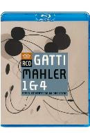 SYMPHONIES 1 & 4/ DANIELE GATTI [말러: 교향곡 1, 4번 - 가티]