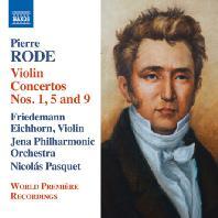 VIOLIN CONCERTOS NOS.1,5 AND 9/ FRIEDEMANN EICHHORN,  NICOLAS PASQUET [로드: 바이올린 협주곡]