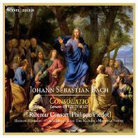 CONSOLATIO: CANTATAS BWV 22, 75 & 127/ RICERCAR CONSORT, PHILIPPE PIERLOT [바흐: 칸타타 - 리체르카르 콘소트, 필립 피에를로]