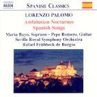 ANDALUSIAN NOCTURNES, SPANISH SONGS/ RAFAEL FRUHBECK DE BURGOS