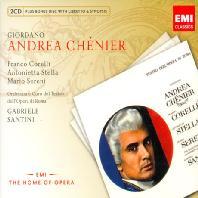 ANDREA CHENIER/ GABRIELE SANTINI [BONUS CD] [죠르다노: 안드레아 셰니에]