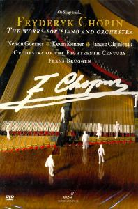 THE WORKS FOR PIANO AND ORCHESTRA/ NELSON GOERNER, FRANS BRUGGEN
