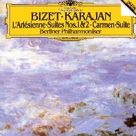 L`ARLESIENNE SUITES NOS.1, 2 & CARMEN SUITE/ HERBERT VON KARAJAN [UHQCD] [비제: 아를르의 여인 & 카르멘 모음곡 - 카라얀]