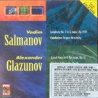 SYMPHONY NO.2 IN G MAJOR OP.1959/ YEVGENI MRAVINSKY [살마노프: 교향곡 2번]