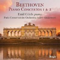 PIANO CONCERTOS 1 & 2/ EMIL GILELS, ANDRE VANDERNOOT
