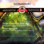VIOLIN CONCERTOS NOS.1 & 2/ THOMAS ZEHETMAIR, SIMON RATTLE [RECOMMENDS]