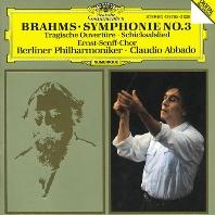 SYMPHONY NO.3/ TRAGIC OVERTURE/ CLAUDIO ABBADO