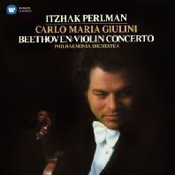 BEETHOVEN: VIOLIN CONCERTO/ CARLO MARIA GIULINI [펄만 28집 - 베토벤: 바이올린 협주곡]