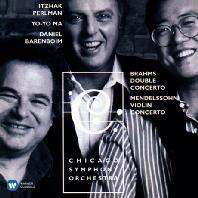 THE ERATO & TELDEC RECORDINGS/ YO-YO MA, DANIEL BARENBOIM [펄만 55집 - 브람스: 이중 협주곡 & 멘델스존, 스트라빈스키, 프로코피에프]