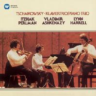 TCHAIKOVSKY: PIANO TRIO/ VLADIMIR ASHKENAZY, LYNN HARRELL [펄만 26집 - 차이코프스키: 피아노 트리오]
