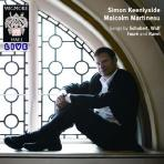 SONGS BY SCHUBERT,WOLF,FAURE AND RAVEL/ MALCOLM MARTINEAU