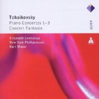 PIANO CONCERTOS/ ELISABETH LEONSKAJA, KURT MASUR [APEX] [차이코프스키: 피아노 협주곡 - 레온스카야 & 마주어]