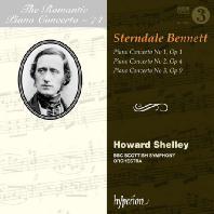 PIANO CONCERTO NO.1-3/ HOWARD SHELLEY [THE ROMANTIC PIANO CONCERTO 74] [베넷: 피아노 협주곡 - 하워드 셸리]