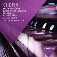 PIANO ENCORES/ CLAUDIO ARRAU [VIRTUOSO]