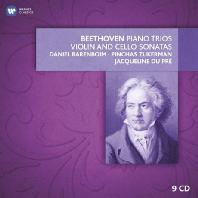 PIANO TRIOS, VIOLIN AND CELLO SONATAS/ DANIEL BARENBOIM, PINCHAS ZUKERMAN, JACQUELINE DU PRE [베토벤: 피아노 삼중주와 바이올린 소나타, 첼로 소나타 전곡]